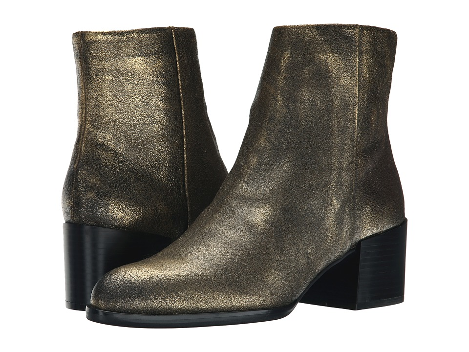 Sam Edelman - Joey (Pure Gold) Women's Zip Boots