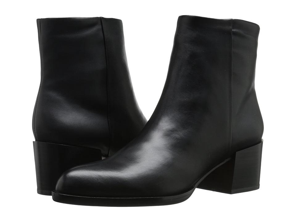 Sam Edelman - Joey (Black Leather) Women's Zip Boots