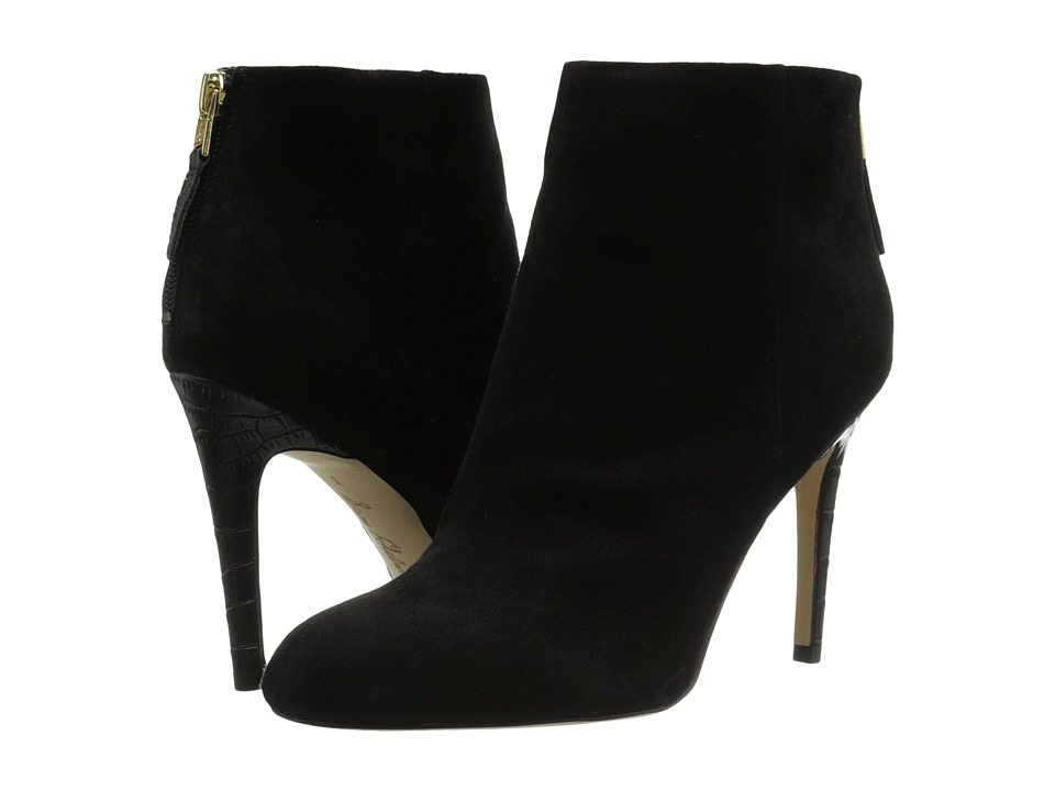 Sam Edelman - Kourtney (Black Suede) Women's Shoes