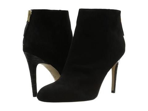 Sam Edelman - Kourtney (Black Suede) Women's Shoes