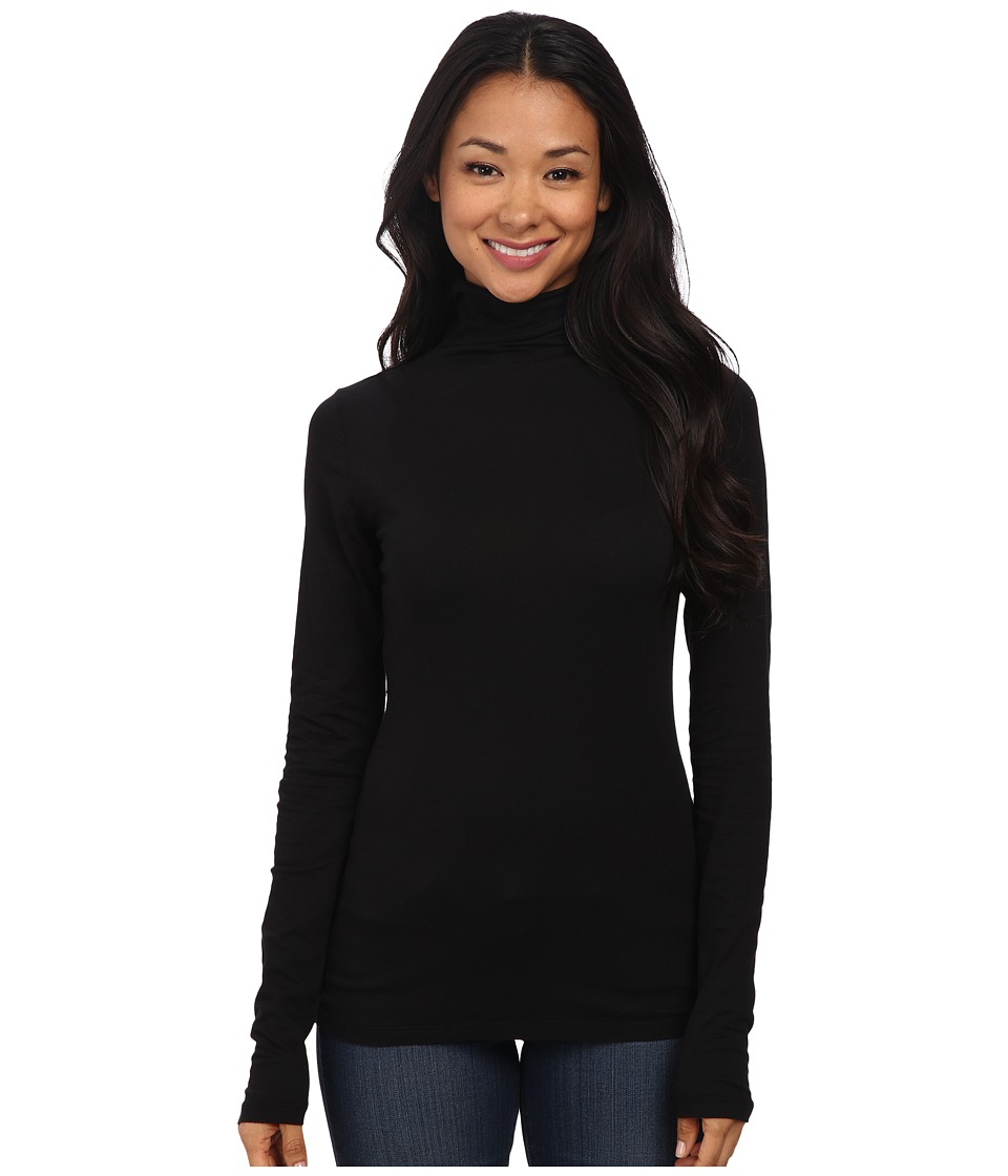 Velvet by Graham & Spencer - Talisia03 Turtleneck (Black) Women's Clothing
