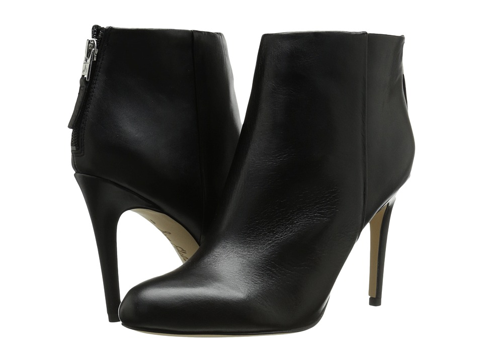 Sam Edelman - Kourtney (Black Leather) Women's Shoes
