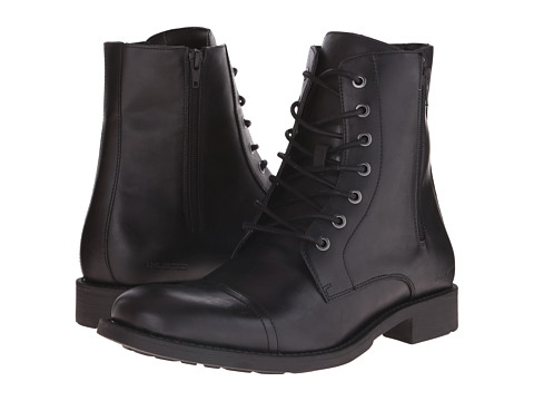 Kenneth Cole Unlisted - Blind Turn (Black) Men's Lace-up Boots
