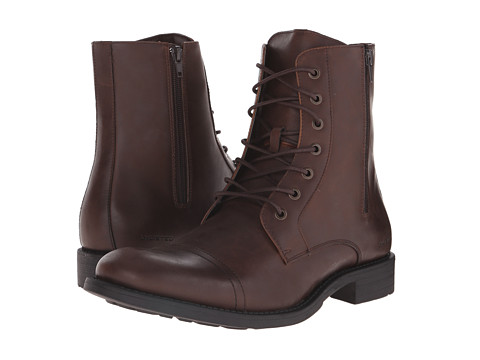 Kenneth Cole Unlisted - Blind Turn (Brown) Men's Lace-up Boots