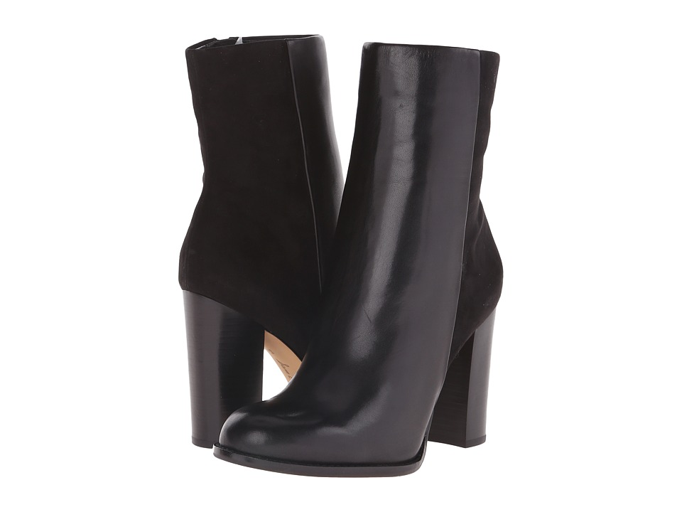 Sam Edelman Reyes (Black Leather) Women