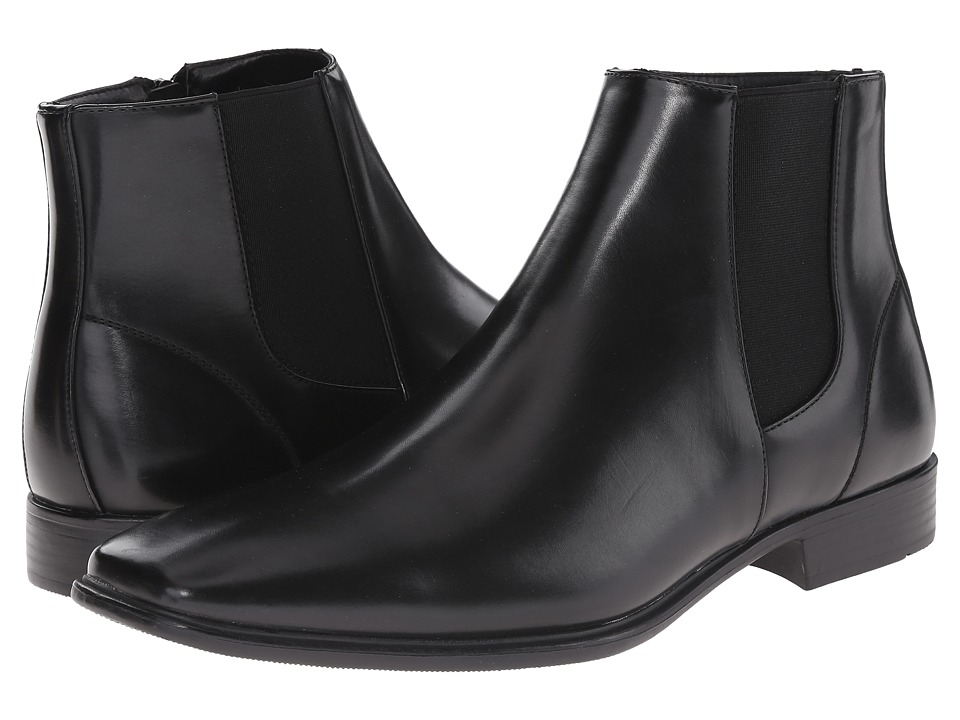 Kenneth Cole Unlisted - My Treat (Black) Men's Zip Boots