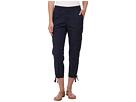 Poplin Ankle Cargo Pants