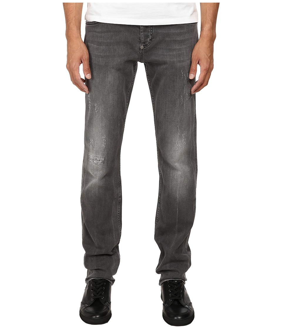 Philipp Plein - Distressed Denim (Grey Platinum) Men's Jeans