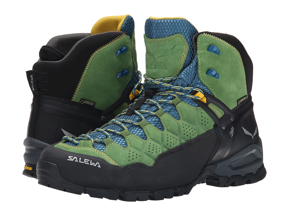 SALEWA - Alp Trainer Mid GTX (Treetop/Ringlo) Men's Shoes