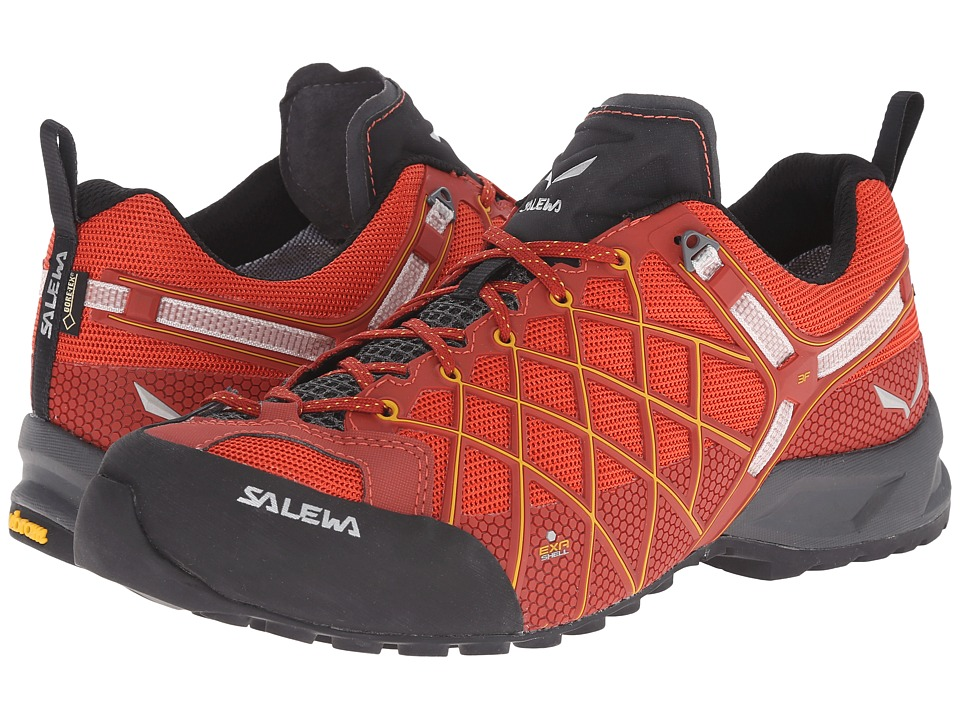 SALEWA - Wildfire S GTX(r) (Indio/Nugget Gold) Men's Shoes
