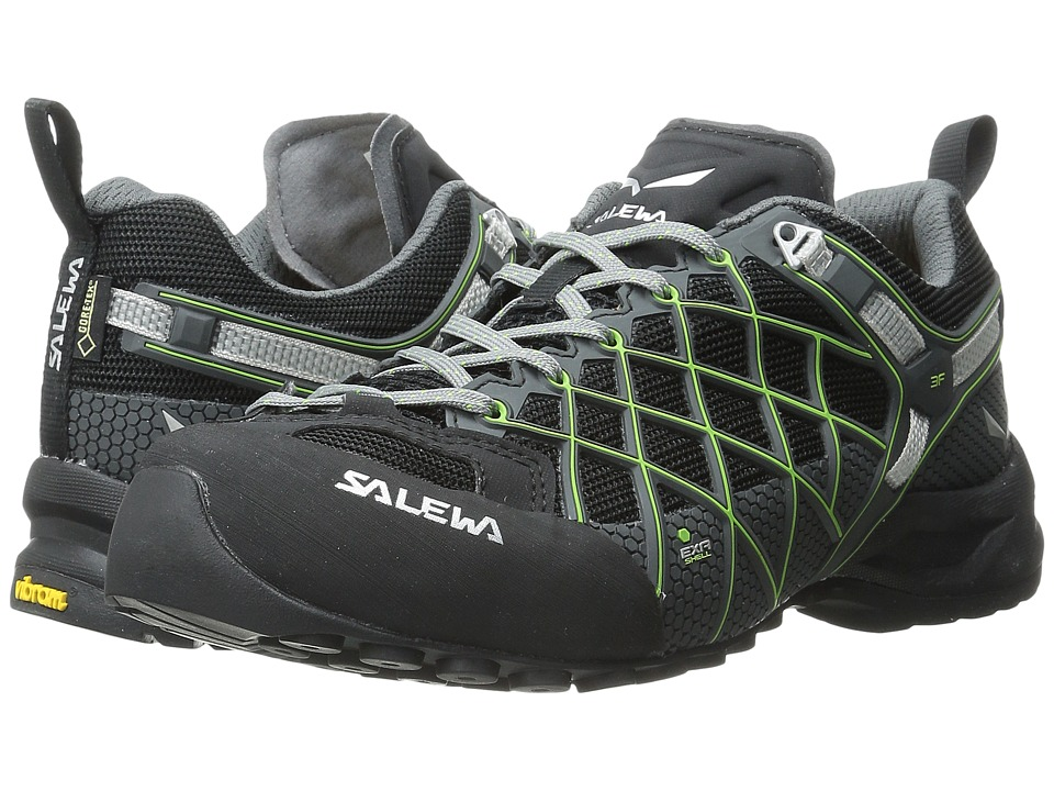 SALEWA - Wildfire S GTX (Black/Emerald) Women's Shoes