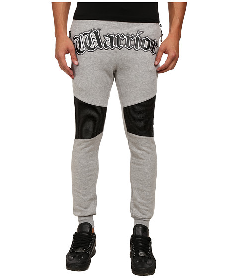 Philipp Plein - Warrior Joggers (Grey) Men's Casual Pants