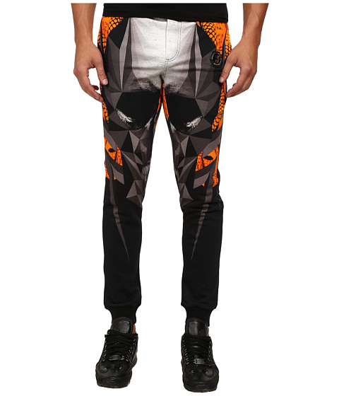 Philipp Plein - Skull Joggers (Orange) Men's Casual Pants