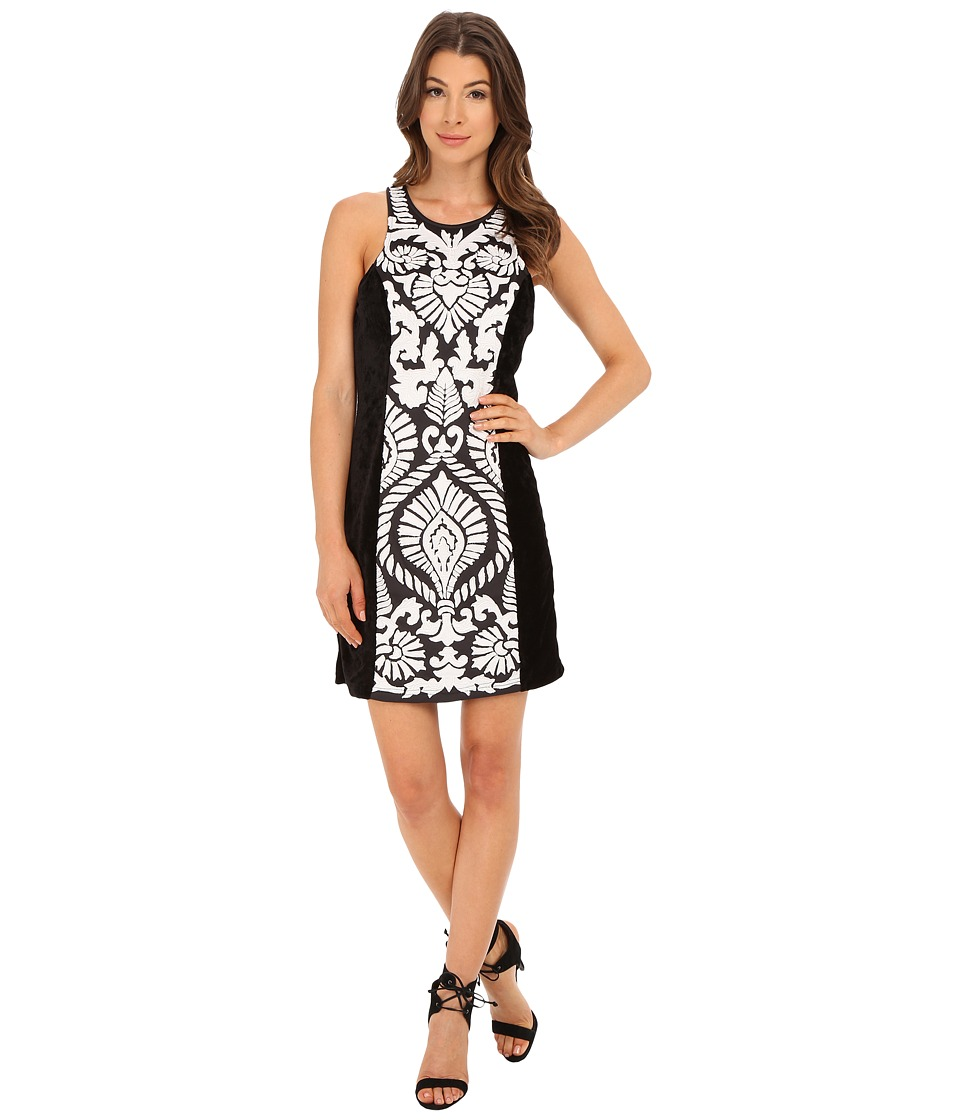 KAS New York Ryanne Dress (Black/White) Women
