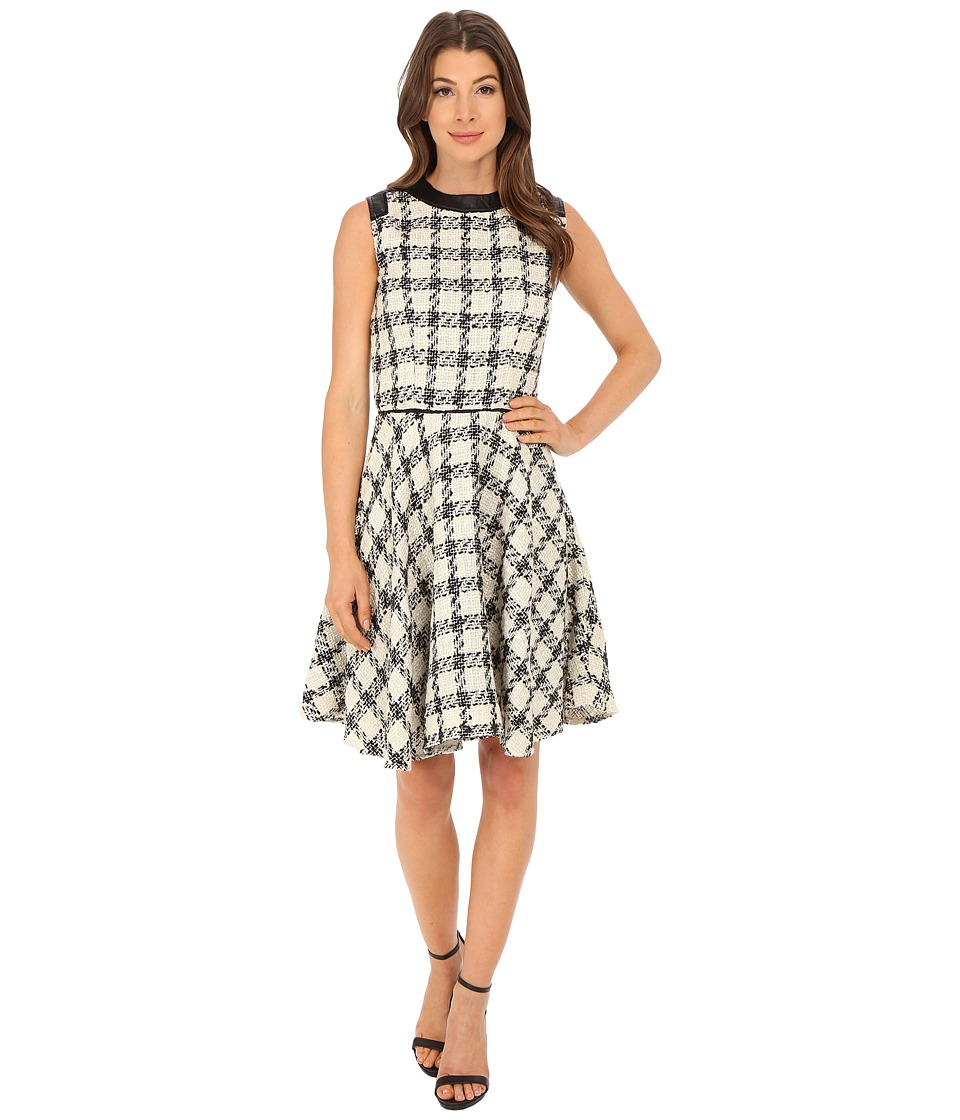 KAS New York Kariin Dress (Black/White) Women