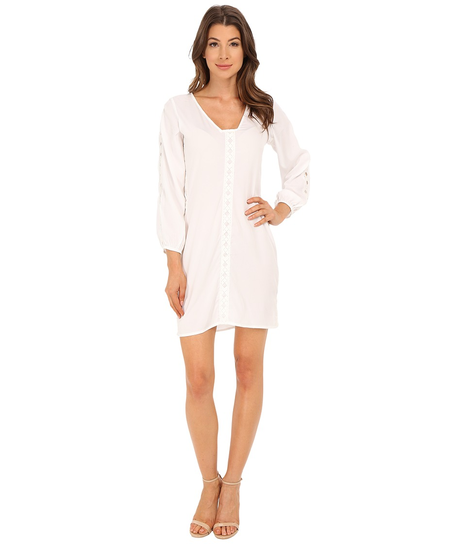 KAS New York Shauon Dress (White) Women