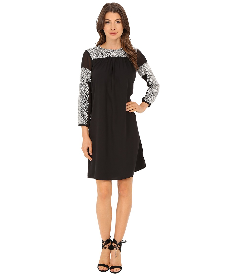 KAS New York Kaejauny Dress (Black) Women