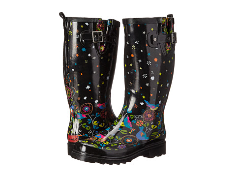 Chooka - Bird Watch (Black) Women's Rain Boots
