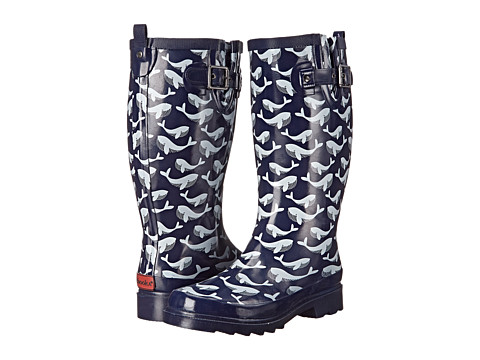 Chooka - Whale Pod (Navy) Women's Rain Boots