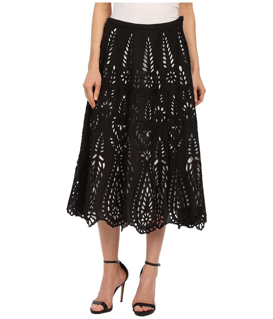 KAS New York - Kaera Skirt (Black/White) Women's Skirt