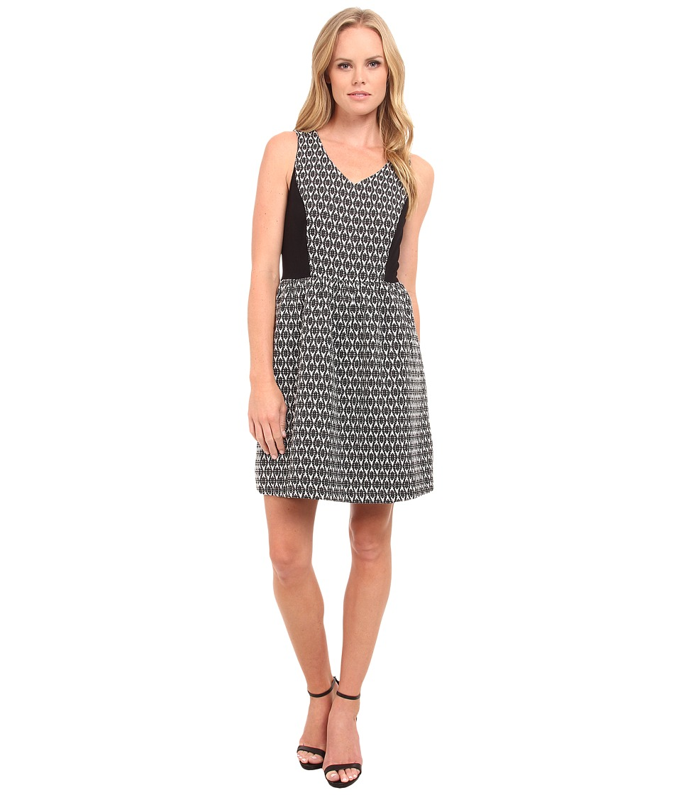 kensie - Soft Brocade Dress KS9K7700 (Ivory Multi) Women's Dress