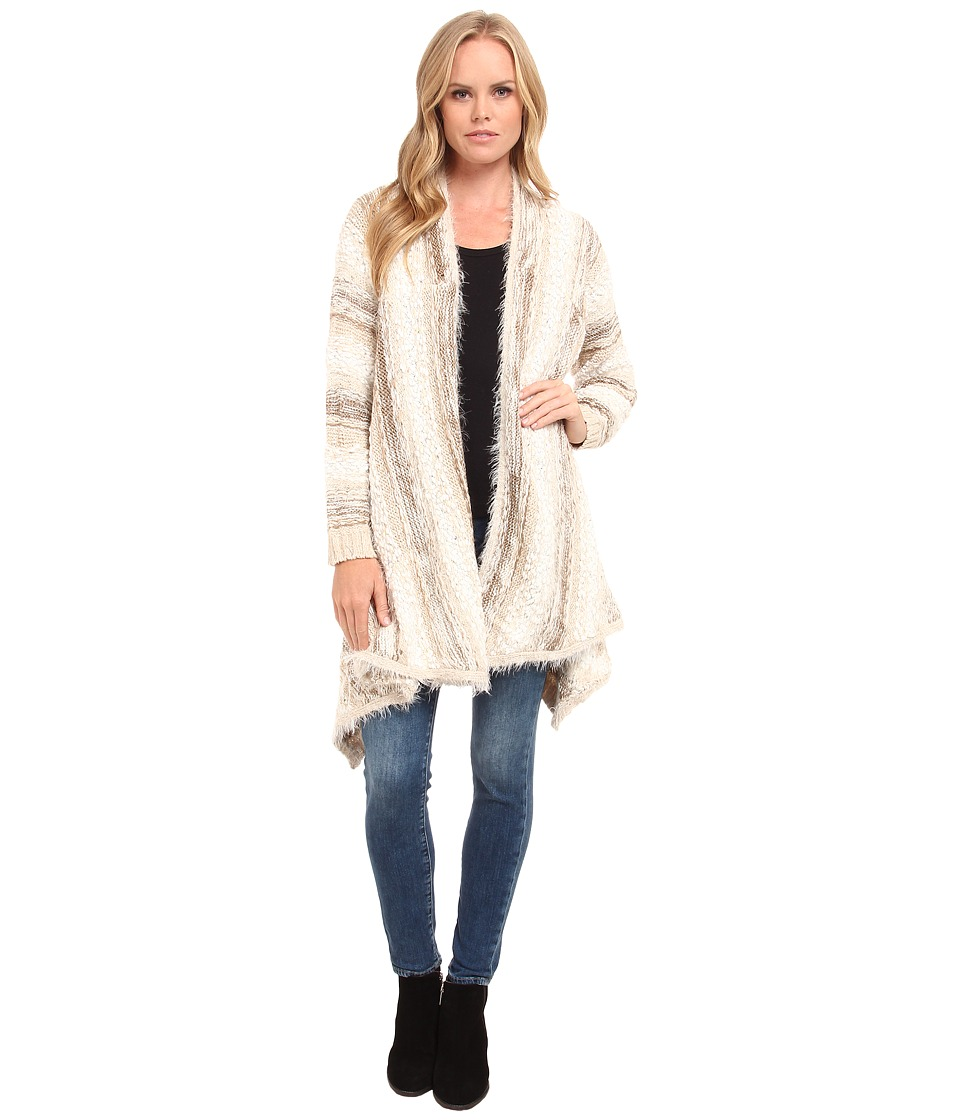 kensie - Blended Crafty Yarn Cardigan KS9K5813 (Dune Multi) Women's Sweater