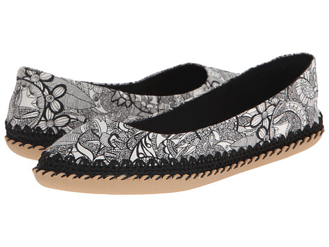 The Sak - Adel (Black/White Spirit Desert) Women's Flat Shoes