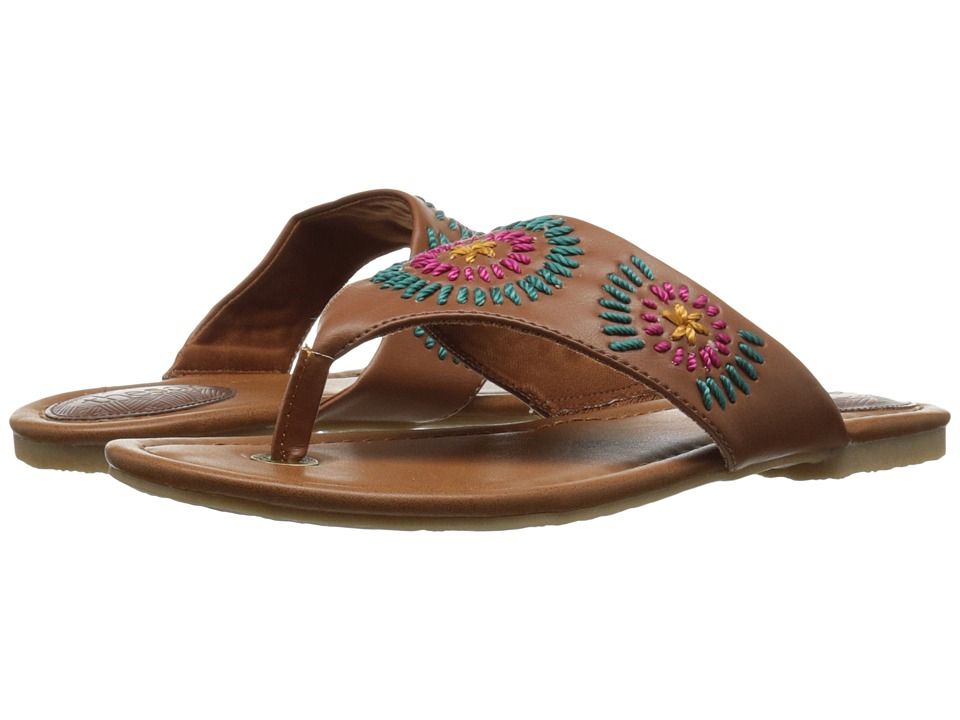 The Sak - Shana Craft (Tobacco Multi) Women's Flat Shoes