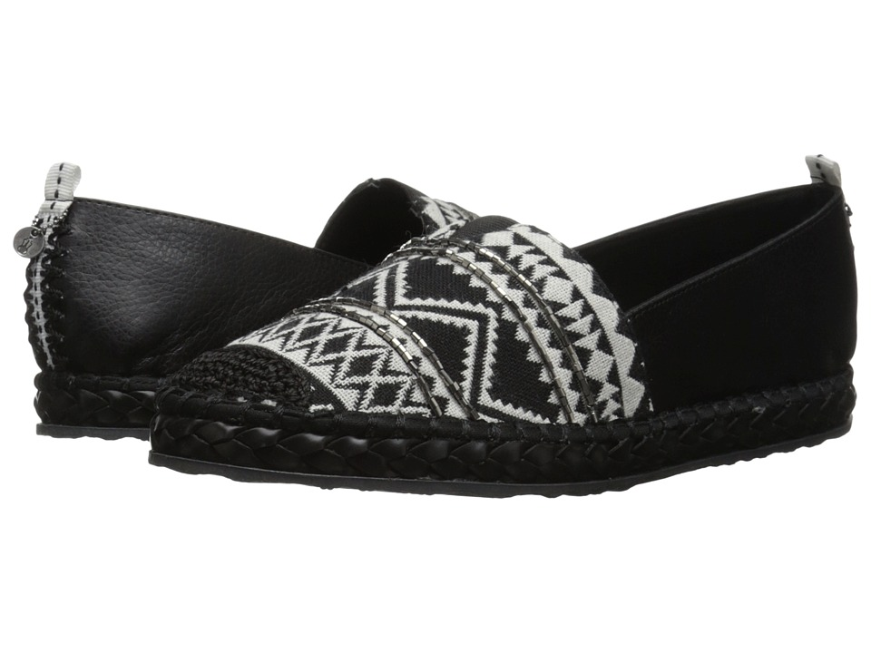 The Sak - Echo Aztec (Black/White) Women's Flat Shoes