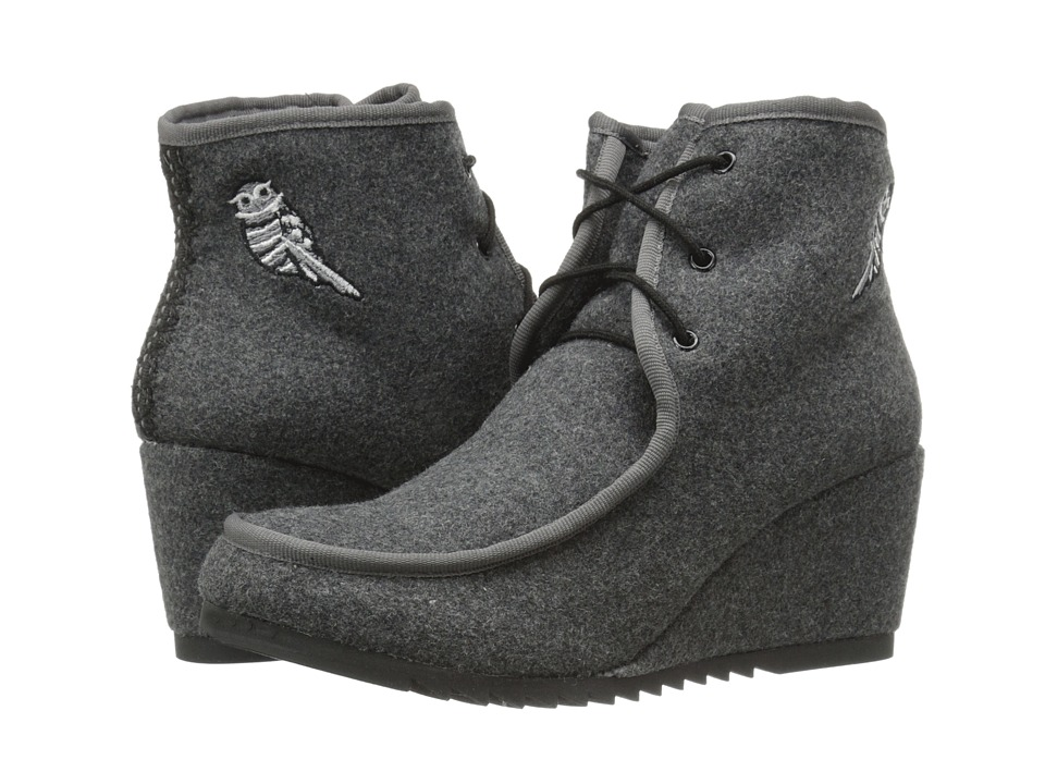 The Sak - Tango (Grey Owl) Women's Wedge Shoes