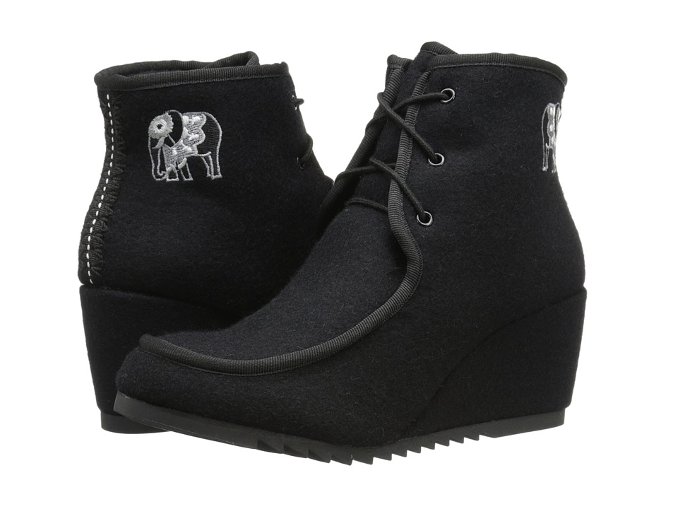 The Sak - Tango (Black Elephant) Women's Wedge Shoes