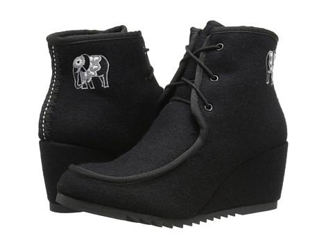 The Sak - Tango (Black Elephant) Women's Wedge Shoes