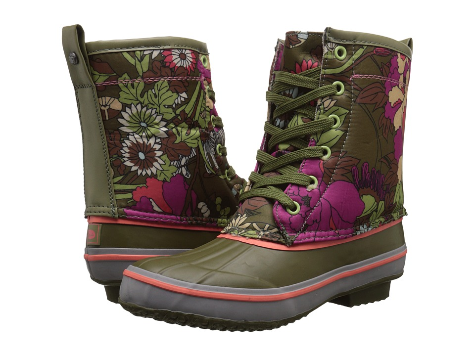 The Sak - Duet (Olive Flower Power) Women's Pull-on Boots