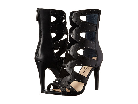 Jessica Simpson - Erikka 2 (Black Sleek 1) Women's Shoes