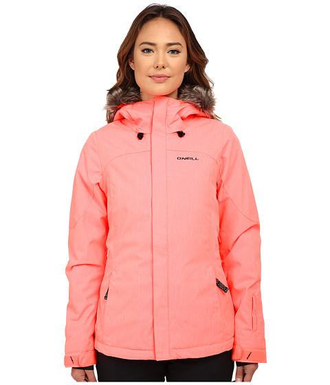 O'Neill - Curve Jacket (Neon Tangerine) Women's Coat