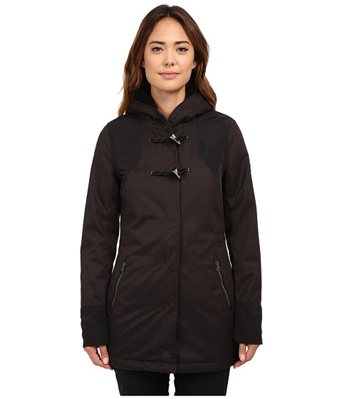 O'Neill - Woods Parka (Black Out) Women's Coat