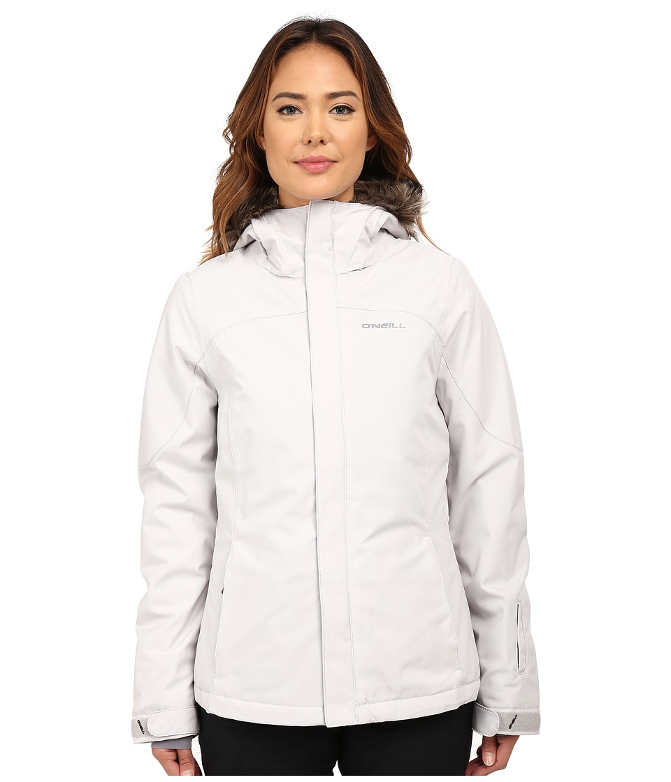 O'Neill - Curve Jacket (Powder White) Women's Coat