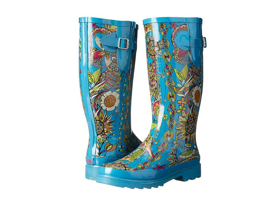 Sakroots - Rhythm (Teal Spirit Desert) Women's Rain Boots