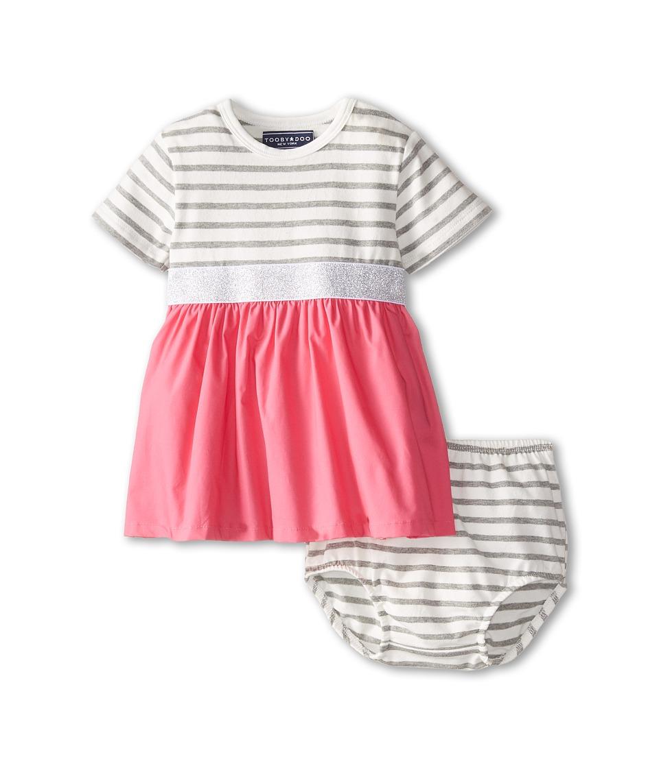 Toobydoo - Odette Party Dress (Infant/Toddler) (Pink) Girl