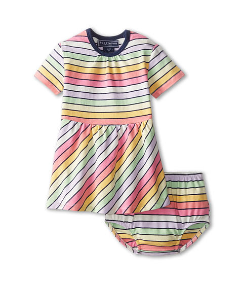 Toobydoo - Colette Play Dress (Infant/Toddler) (Multi Pastel) Girl's Dress