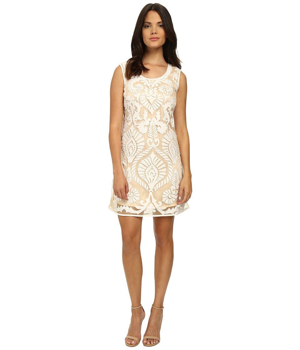 KAS New York Etoile Dress (White/Natural) Women