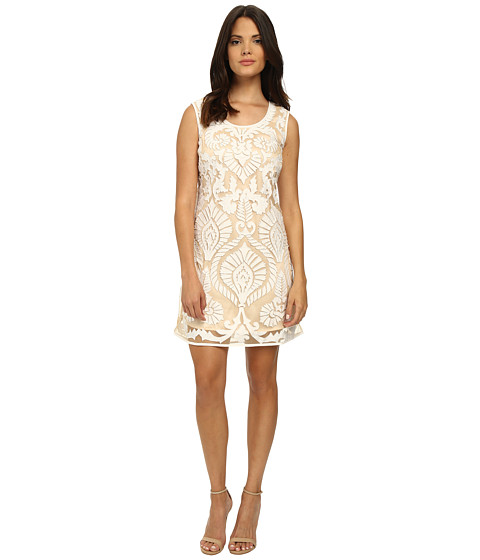 KAS New York - Etoile Dress (White/Natural) Women