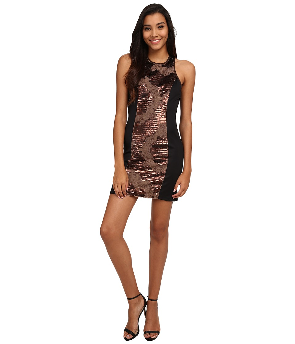 KAS New York Jawna Dress (Brown) Women