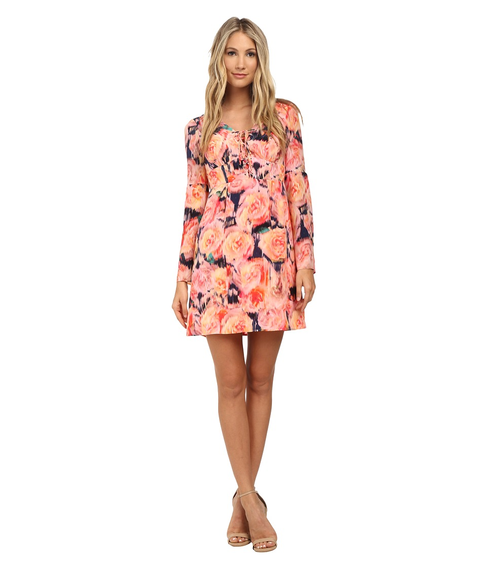 Nanette Lepore - Racy Rose Dress (Rose Multi) Women's Dress