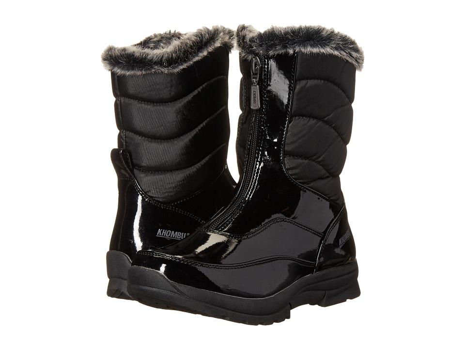 Khombu Kids - Davia (Little Kid/Big Kid) (Black) Girl's Shoes