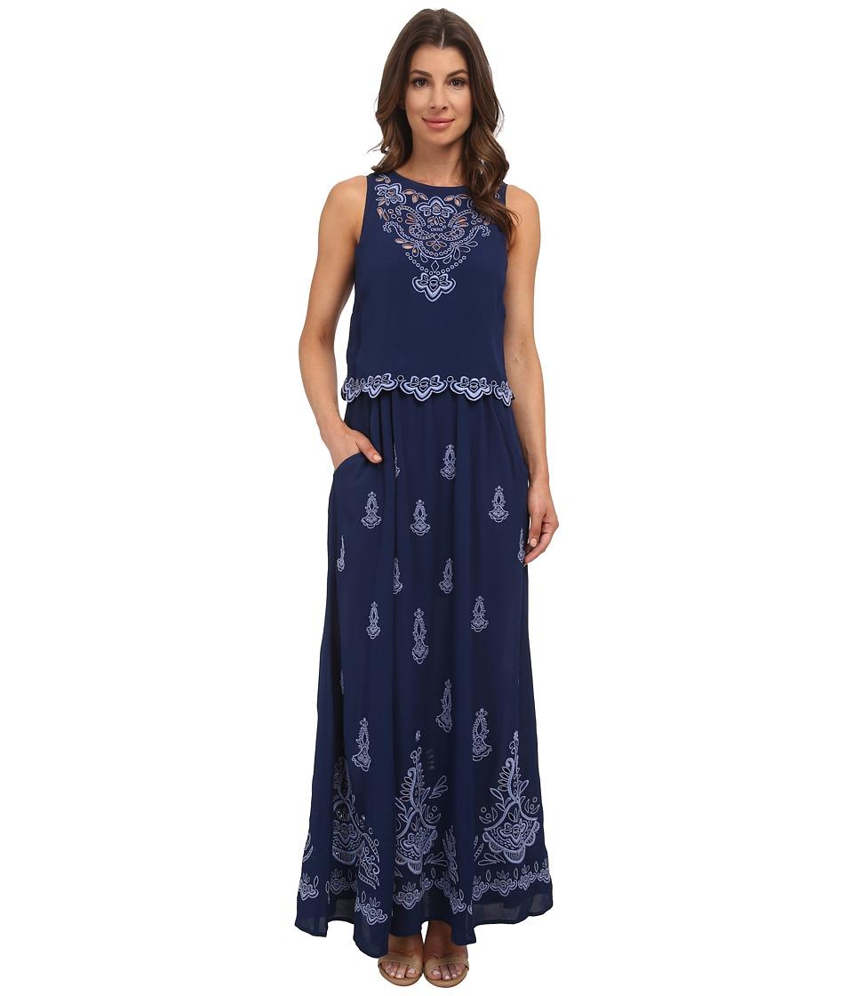 Nanette Lepore - Summer Solstice Maxi (Blue Sky) Women's Dress