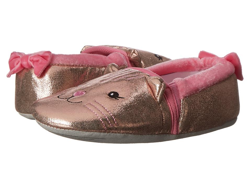 Stride Rite Sparkle Cat Loafer (Toddler/Little Kid) (Medium Pink) Girls Shoes