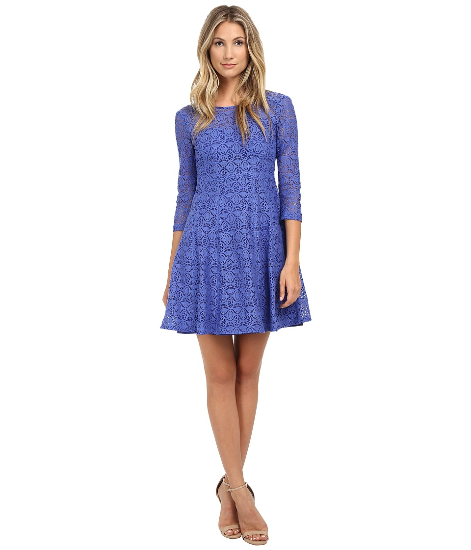 Nanette Lepore - Coffeehouse Dress (Cornflower) Women
