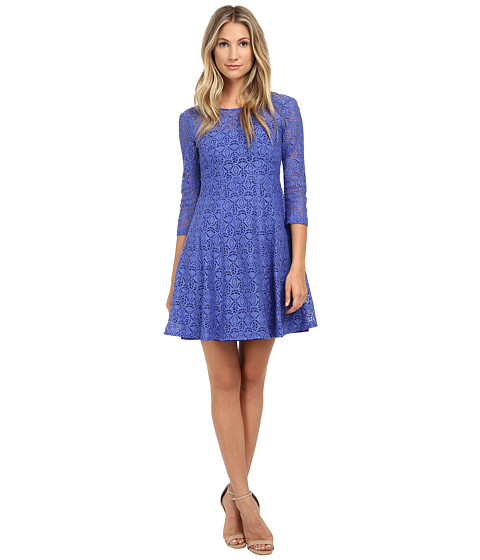 Nanette Lepore - Coffeehouse Dress (Cornflower) Women's Dress