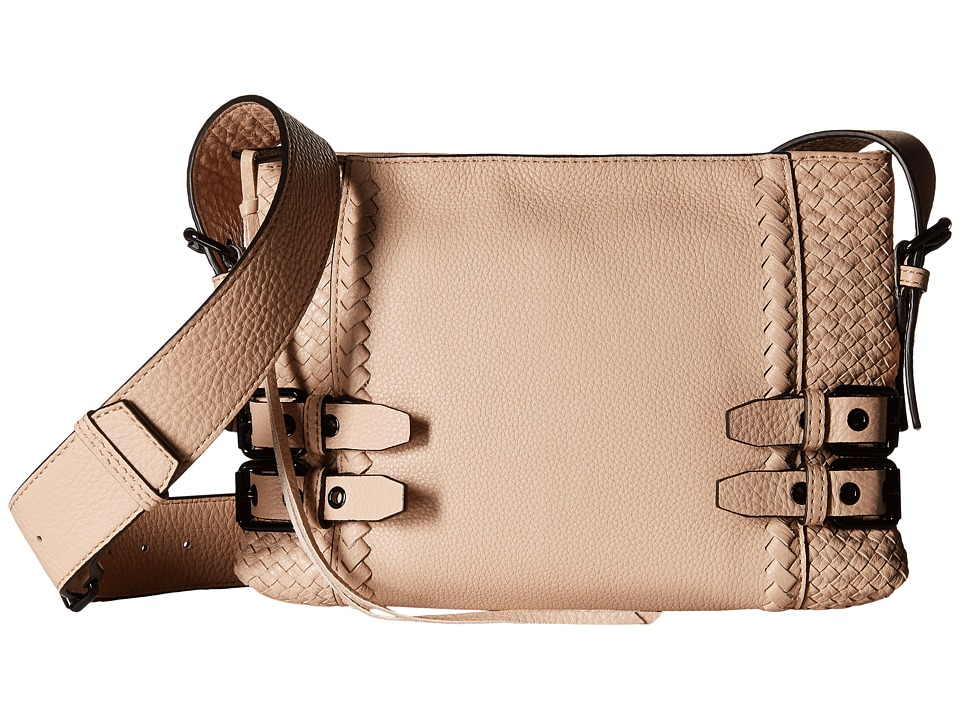 Rebecca Minkoff - Moto Crossbody (Latte) Cross Body Handbags